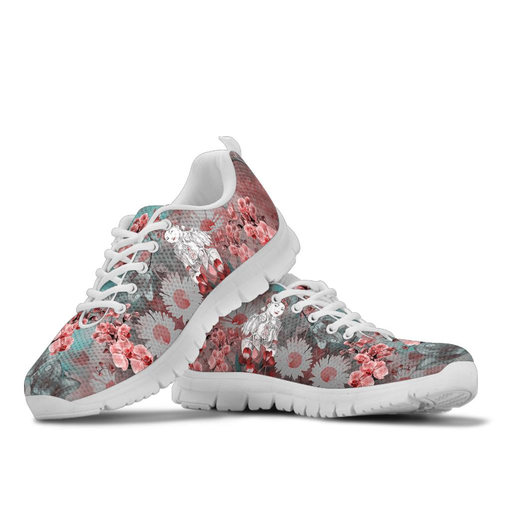 floral queen boss lady Sneakers