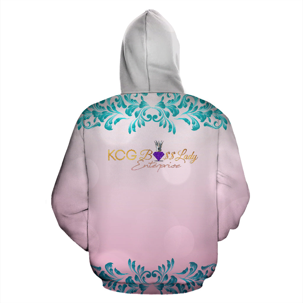 Thinking Face Boss Lady Hoodie