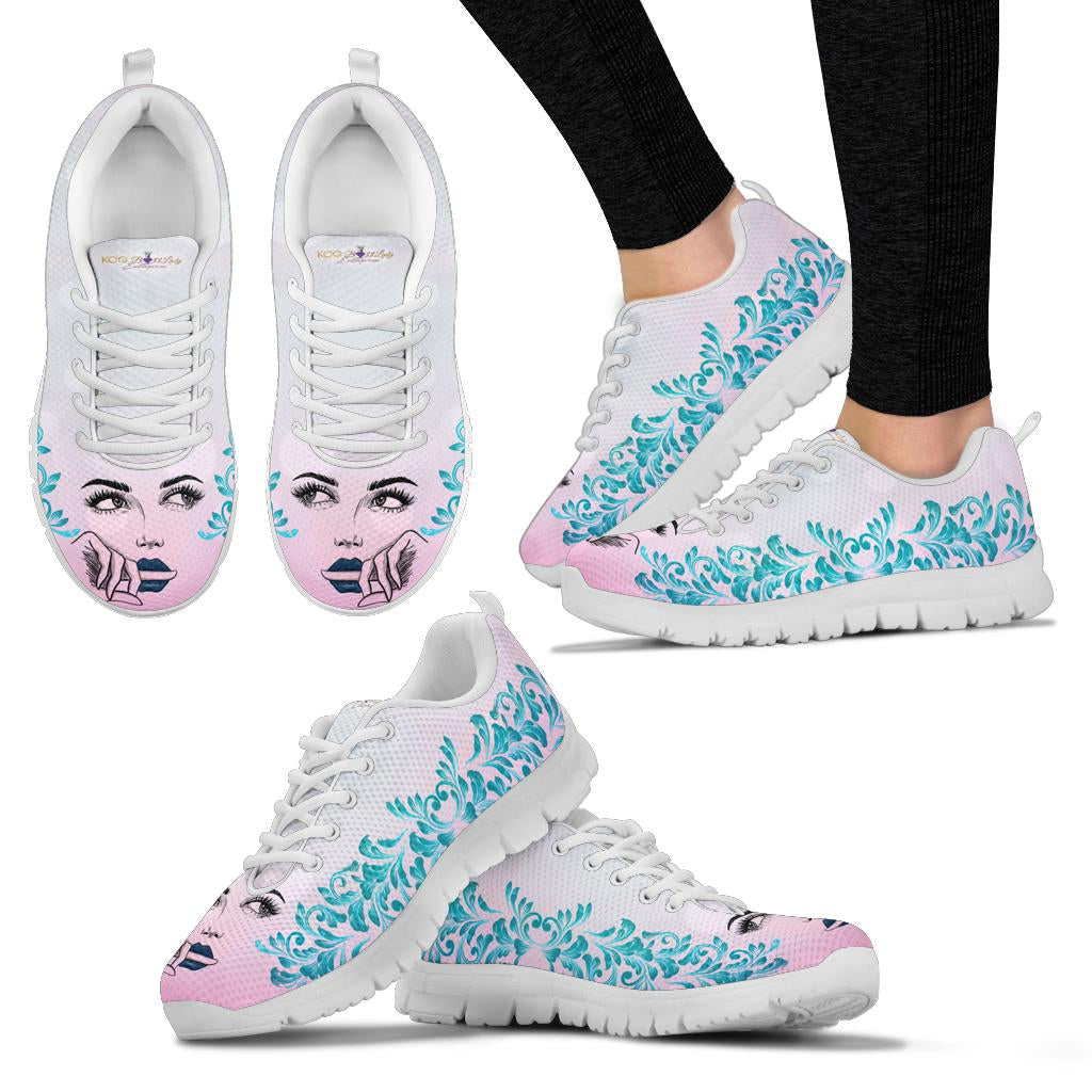 Thinking Face Boss Lady Sneaker