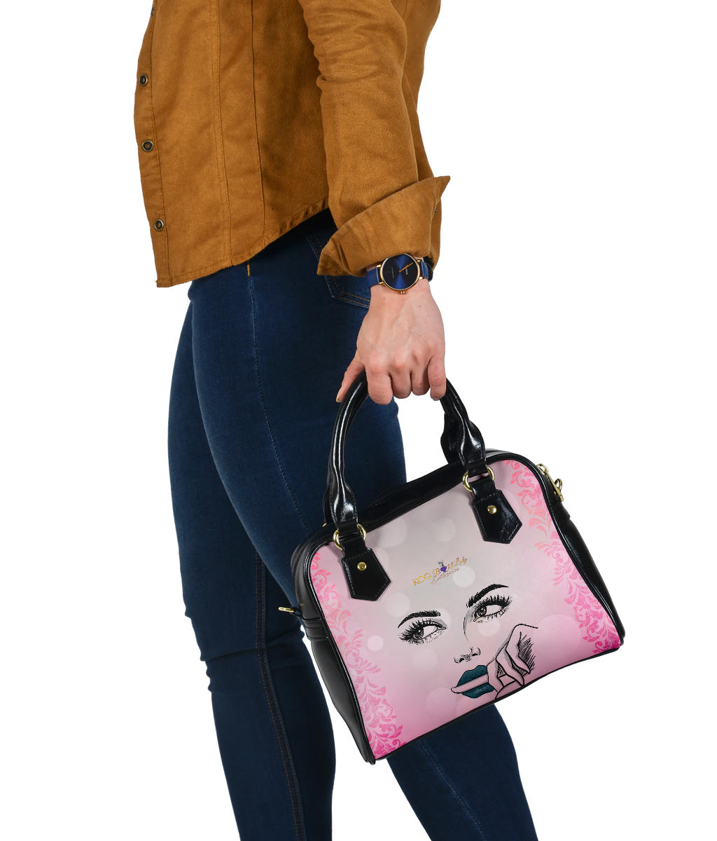 Thinking Face Boss Lady Shoulder Bag
