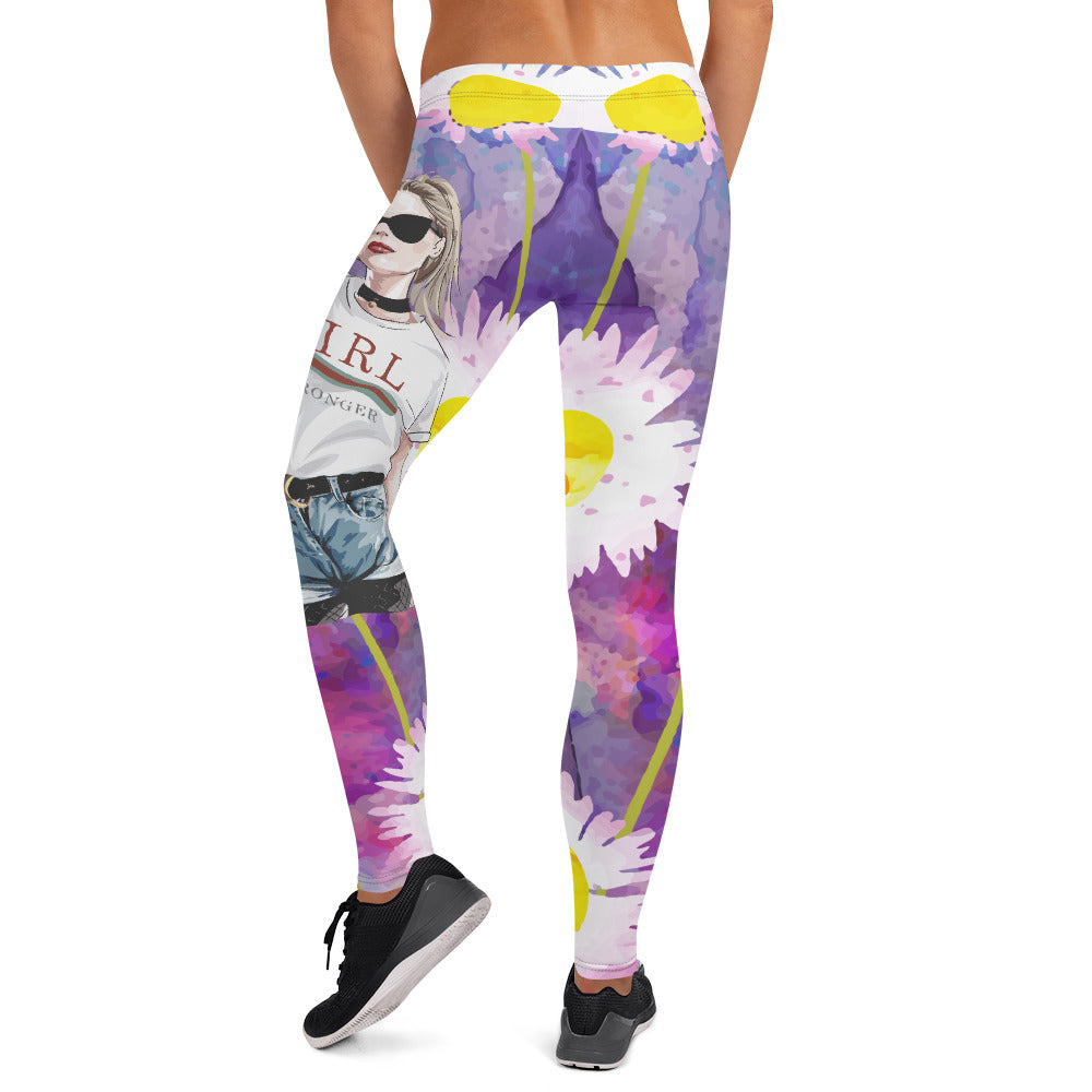 Sun Flower Boss Lady Leggings