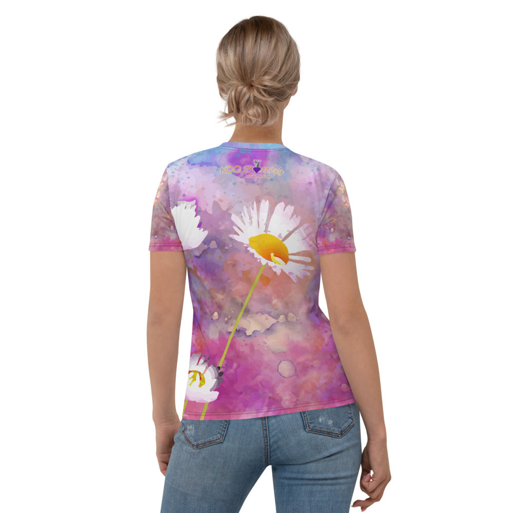 Colorful Boss Lady Women's T-shirt