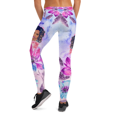 Abstract Colors Boss Lady Leggings