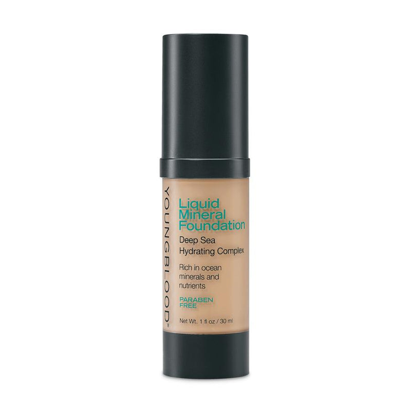 YOUNGBLOOD LIQUID MINERAL FOUNDATION