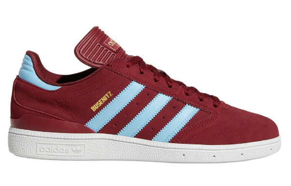 Adidas Busenitz - Burgundy Light Blue