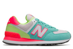 New Balance 574 Women's - Light Tidepool