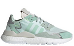 Adidas Nite Jogger Women's - Ice Mint White Grey Teal