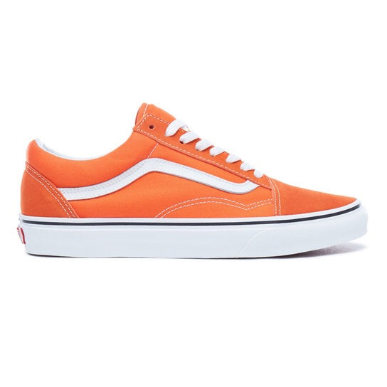 Vans Old Skool - Koi Orange/ White