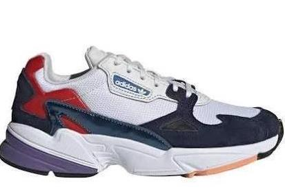 newest 483d3 c0bc9 Adidas Falcon Womens - White Navy