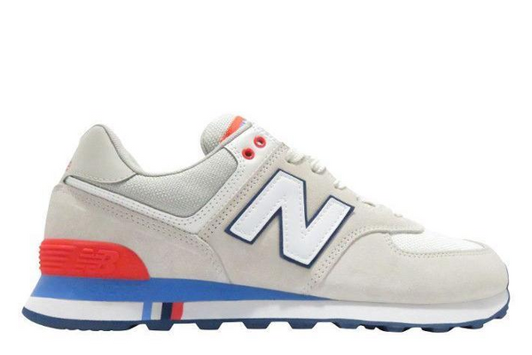 New Balance 574 - Grey White Blue