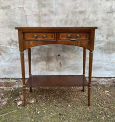 small yew console table or side table