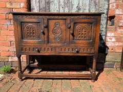 Antique carved sideboard 1