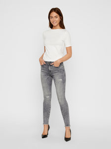 Lucy Normal Waist Ankle Jeans AZ086LG
