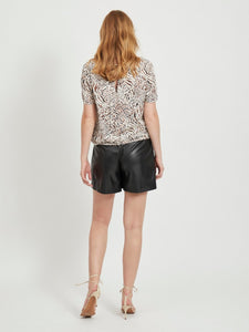 MASK S/S TOP MULTINA/L