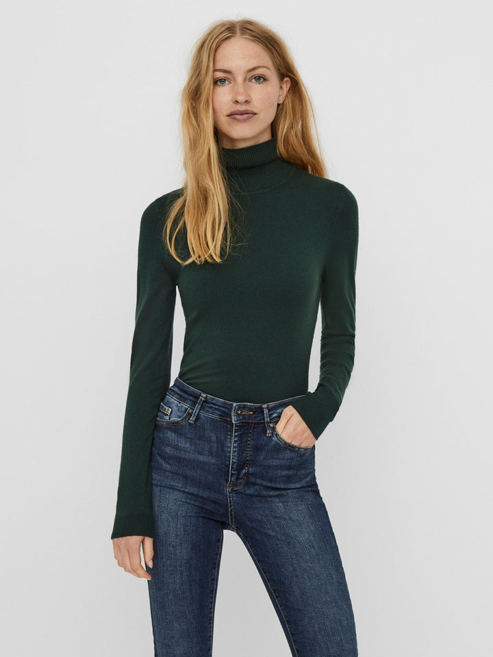 HAPPINESS LS ROLLNECK BLOUSE