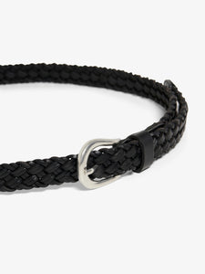 Hanna Braided Leather Jeans Belt