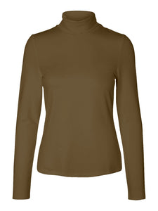 Mary L/S Rollneck Top