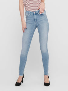 Blush Life Mid Skinny Ankle Raw REA306