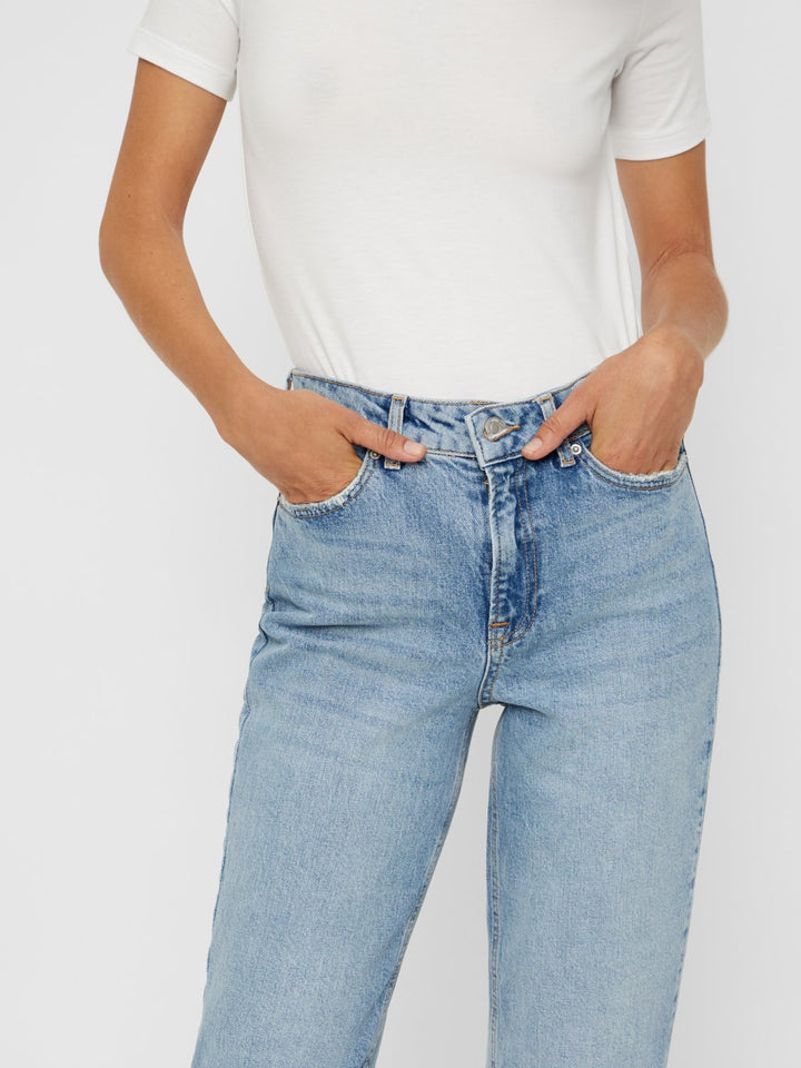 SARA MR RELAXED STRAIGHT JEANS BA3116