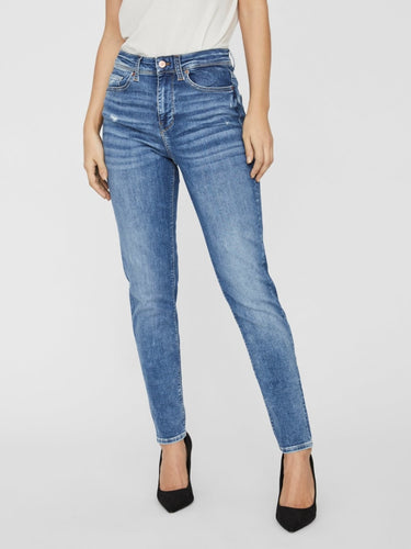 CLARA MR RELAXED TAPER JEANS RI316