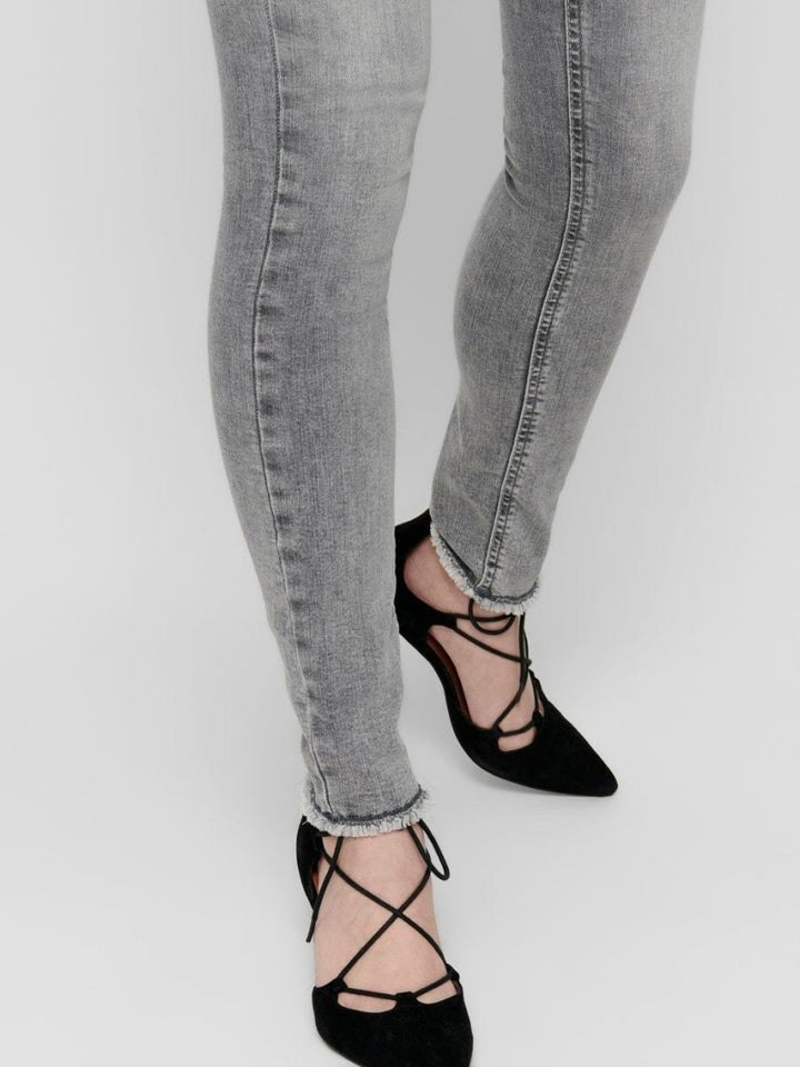 Blush Life Mid Skinny Ankle Raw REA0918 Jeans