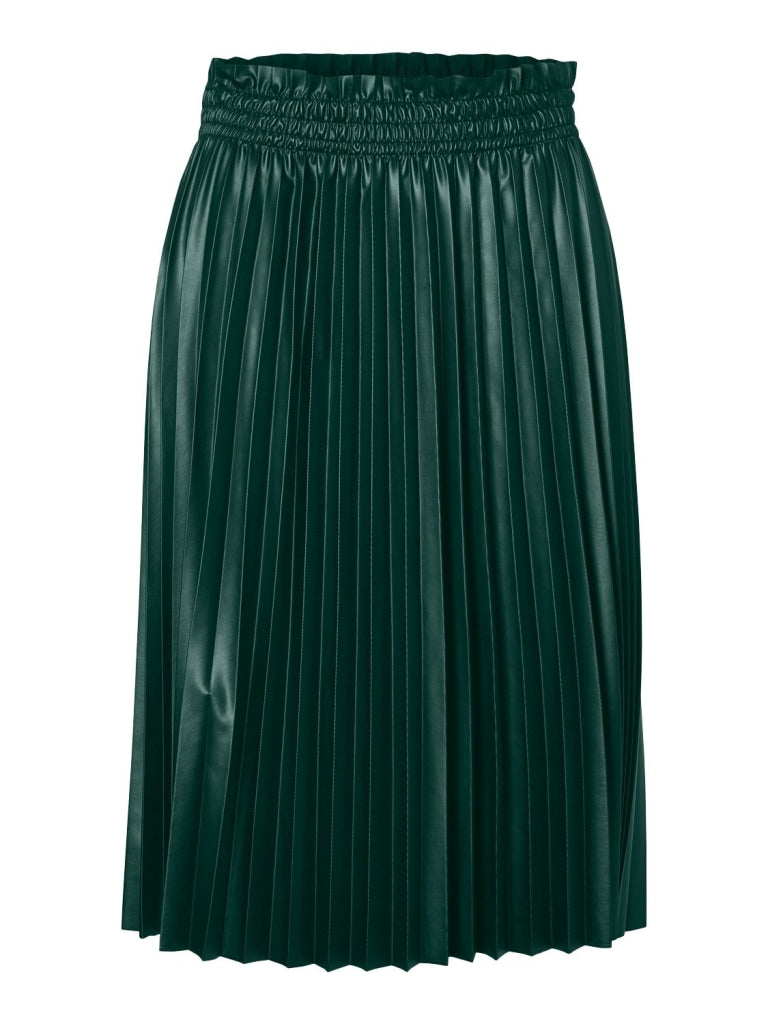 Clarin Coated Knee Skirt