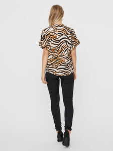 KOURTNEY SS SHIRT WVN GA