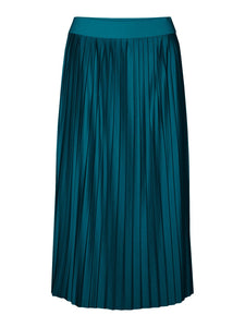 Lexi H/W Pleat Calf Skirt