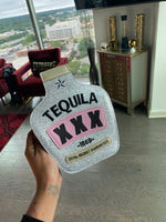 SLIVER TEQUILA PURSE
