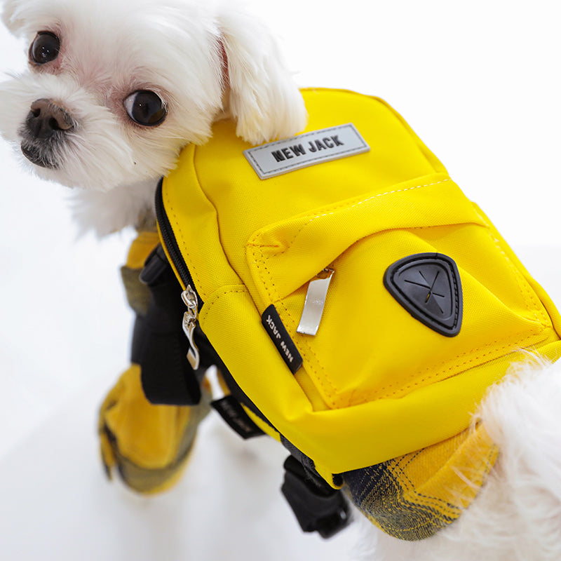 BACK PACK(YELLOW)
