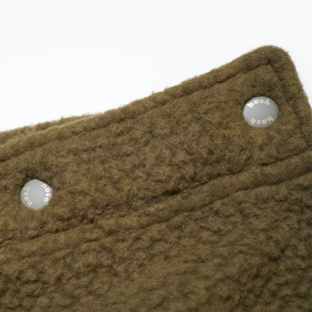 Mars Half Fleece Jumper(Ivory×Khaki)