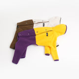 Mars Half Fleece Jumper(Yellow×Purple)