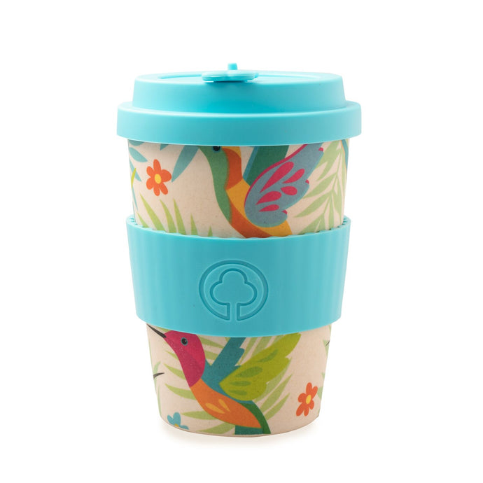 Bamboo Eco Cup 400ml Birds