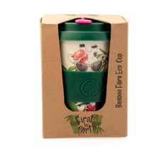 Load image into Gallery viewer, Bamboo Eco Cup 400ml Giraffe
