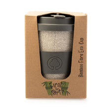 Load image into Gallery viewer, Bamboo Eco Cup 400ml Grey