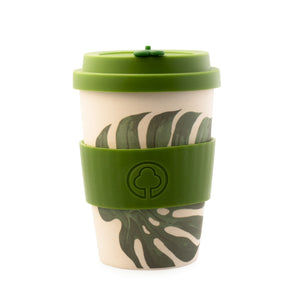 Bamboo Eco Cup 400ml Leaf