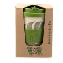 Load image into Gallery viewer, Bamboo Eco Cup 400ml Leaf