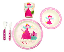 Load image into Gallery viewer, Bamboo Kids 5 Piece Meal Set Princess