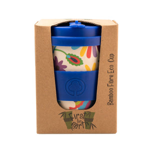 Bamboo Eco Cup 400ml Rainbow Rabbit