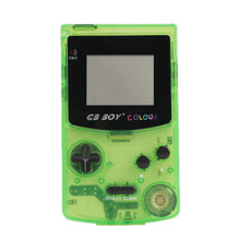 "Load image into Gallery viewer, GB Boy Colour Color Handheld Game Player 2.7"" Portable Classic Game Console Consoles With Backlit 66 Built-in Games"