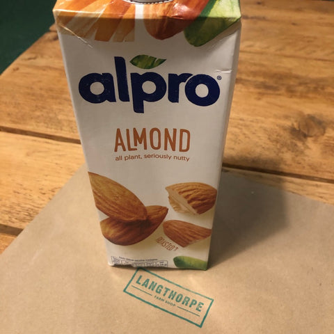 Alpro - Almond 1 litre - Langthorpe Farm Shop