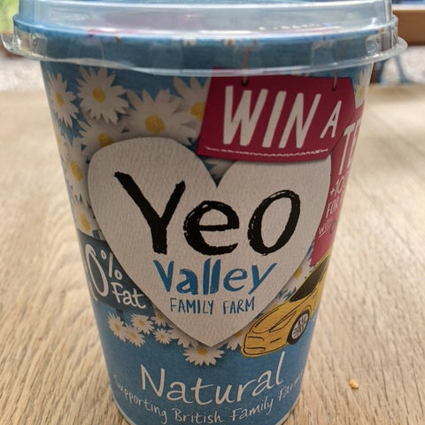 Acorn Dairy - Yeo Valley  - Natural Yoghurt 0% Fat - HGFD Produce