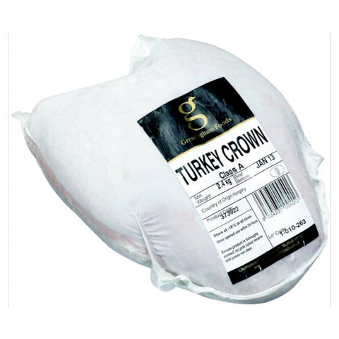 Gressingham Foods Turkey Crown 2.4kg - Frozen