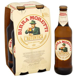 Birra Moretti 4x330ml - Langthorpe Farm Shop