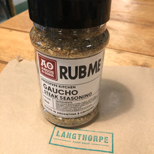 Angus & Oink - Gaucho Steak Seasoning 175gm - Langthorpe Farm Shop