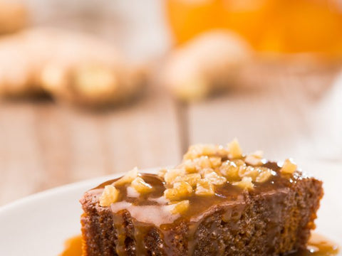 Ginger Pudding With Ginger Sauce
