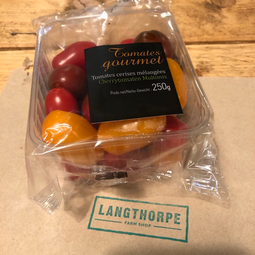 Multi Coloured Vine Cherry Tomatoes 250g