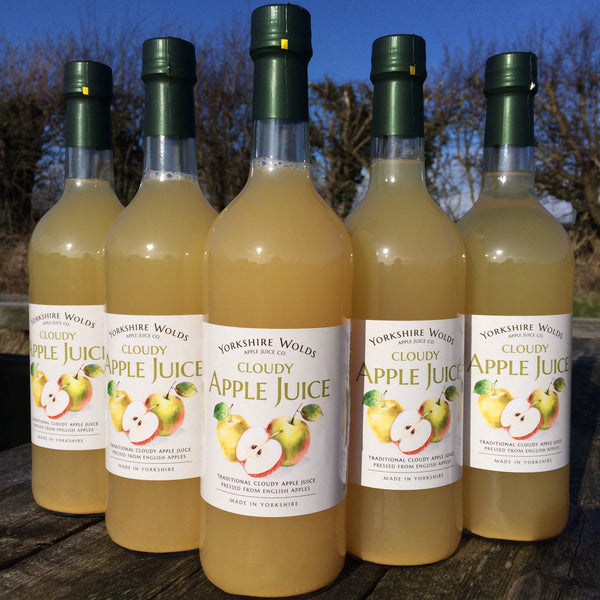 Yorkshire Wolds - Original Cloudy Apple Juice - HGFD Produce
