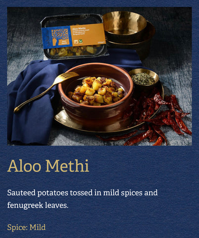 Aloo Methi - Saffron Tree