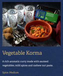 Vegetable Korma - Saffron Tree